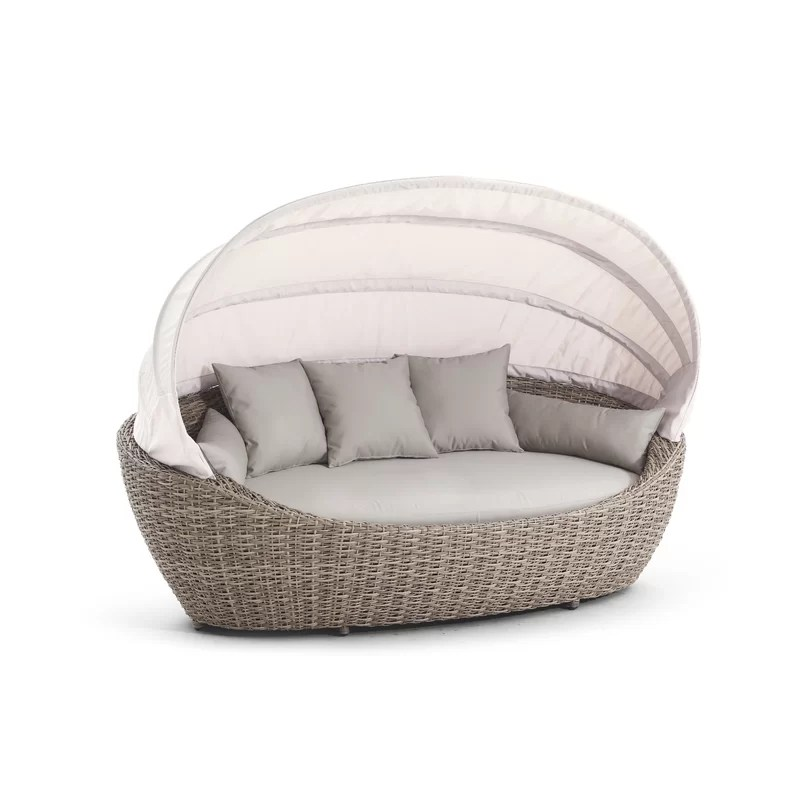 paradiso patio daybed with cushions