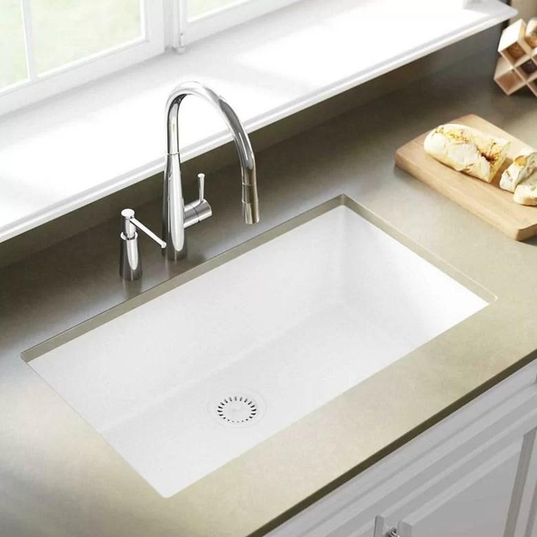 quartz classic 33 l x 18 w undermount kitchen sink