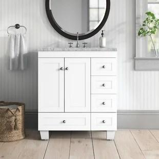 talbotton transitional 30 single bathroom vanity set