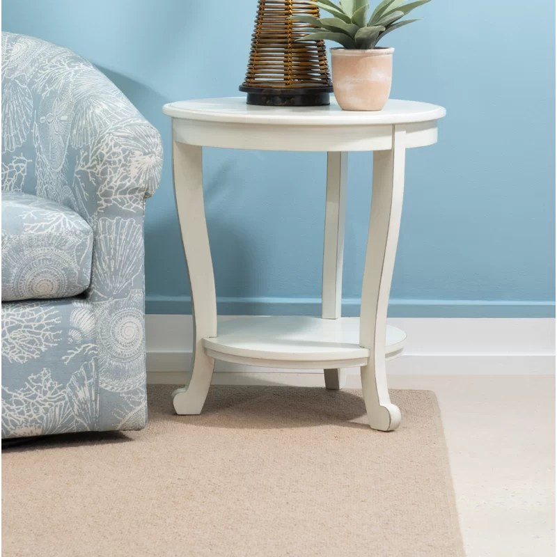 dollis end table with storage