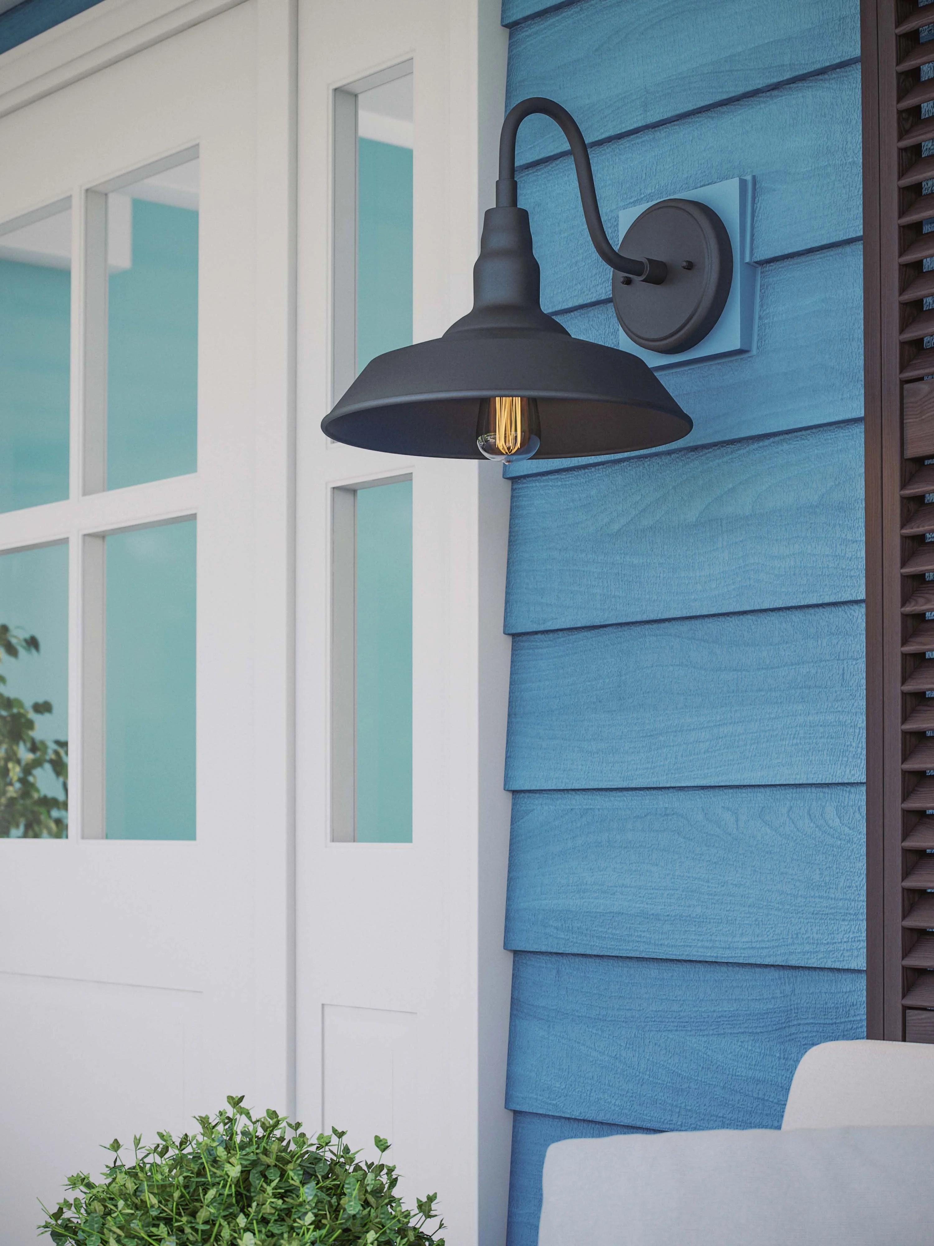outdoor barn lights free shipping