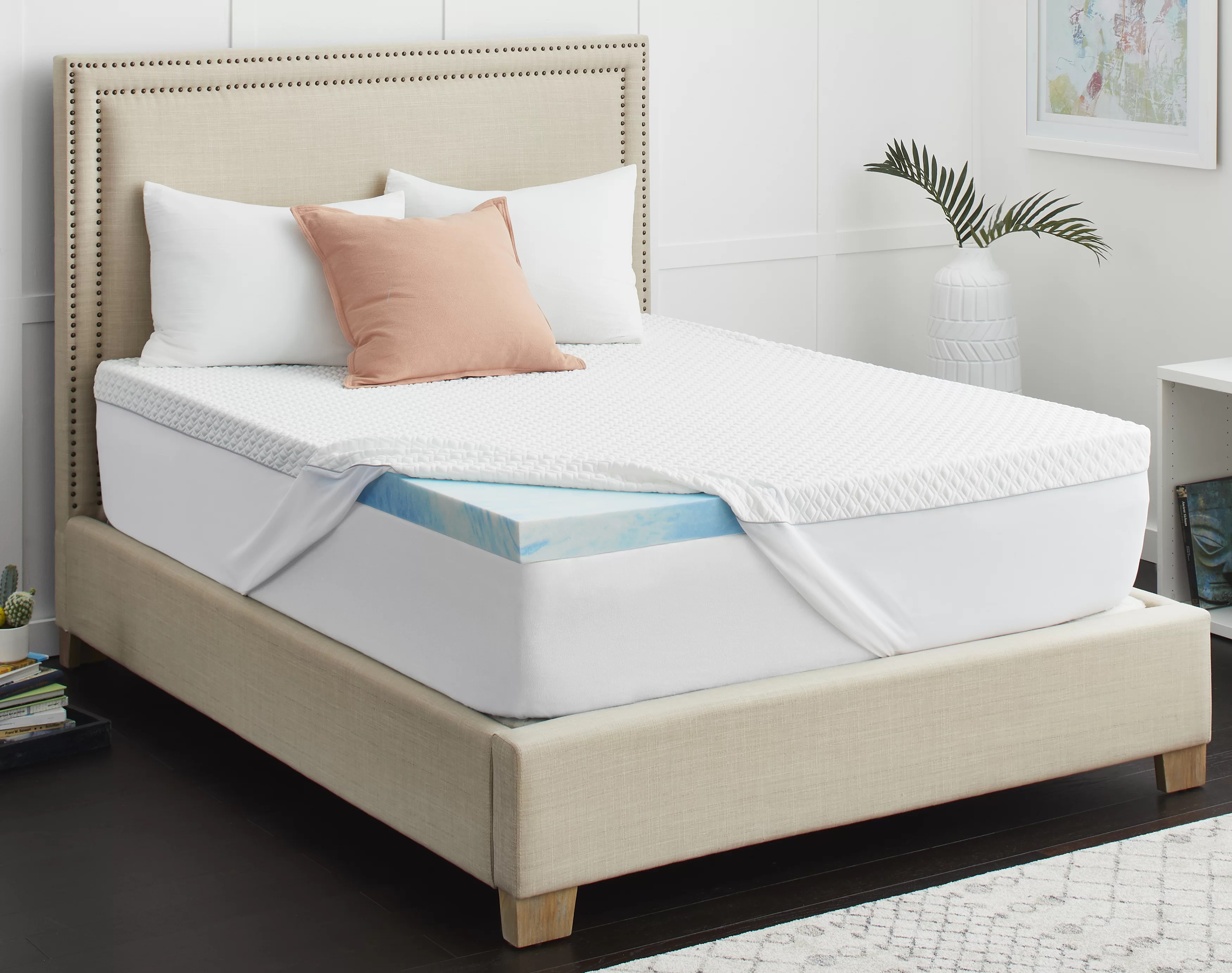 Sealychill 3 Memory Foam Mattress Topper With Cool Clean Technology Reviews
