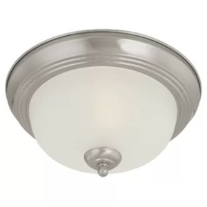 Bathroom Ceiling Lighting   Wayfair Ceiling Essentials 1 Light Flush Mount