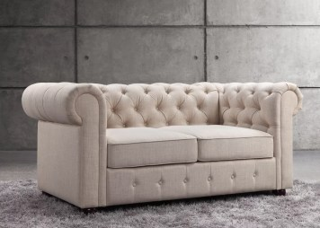 Garcia Chesterfield Loveseat