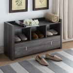 Union Rustic Entry 8 Pair Shoe Storage Bench Reviews Wayfair