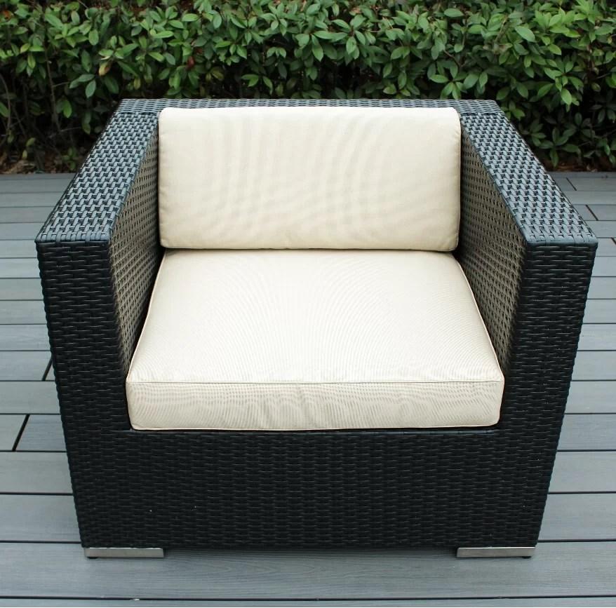 club patio chair with cushions