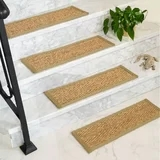 Black Carpet Stair Treads Wayfair | Black Carpet Stair Treads | Bullnose | Padded | Stair Runner | Staircase | Non Slip Stair Tread