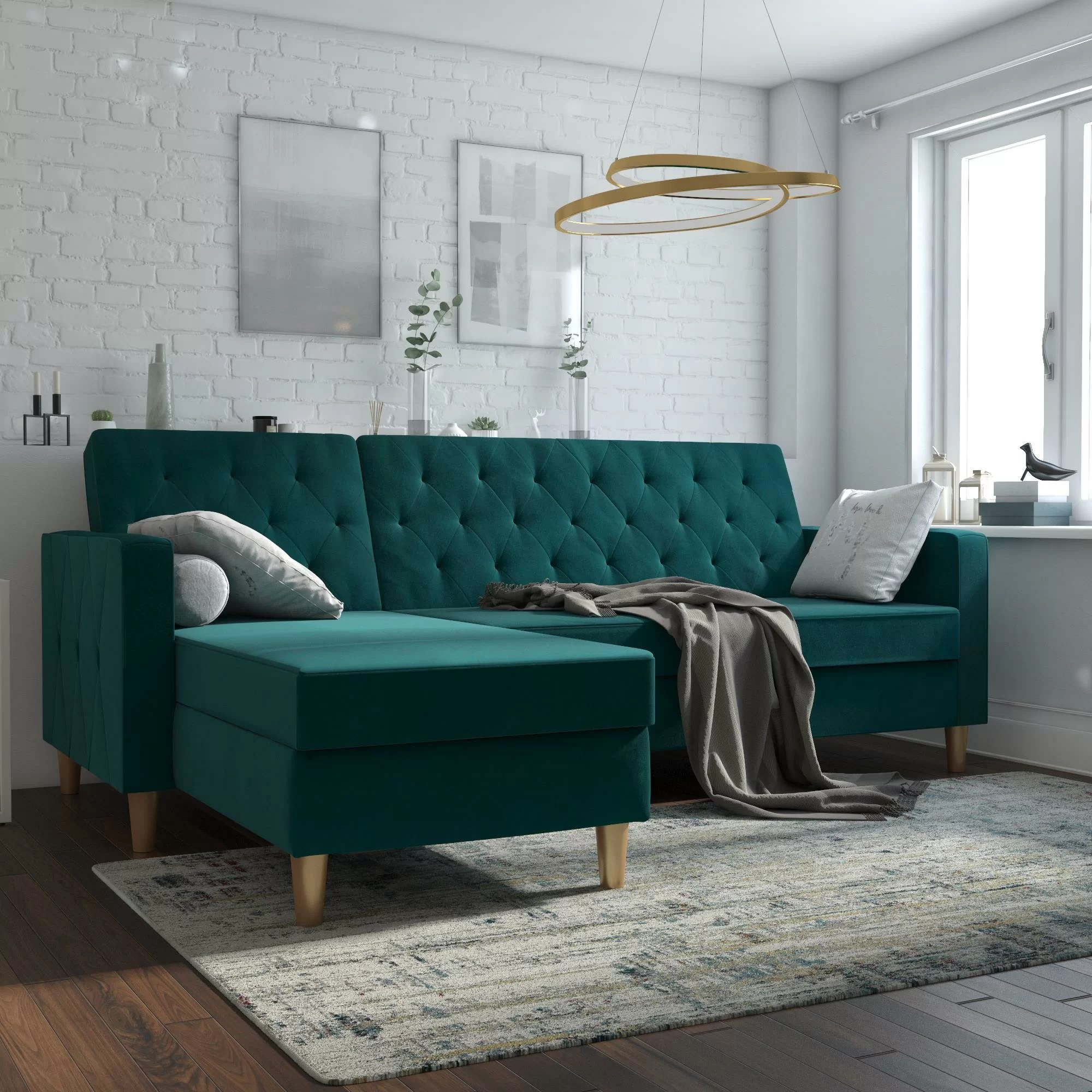 green sectionals you ll love in 2021