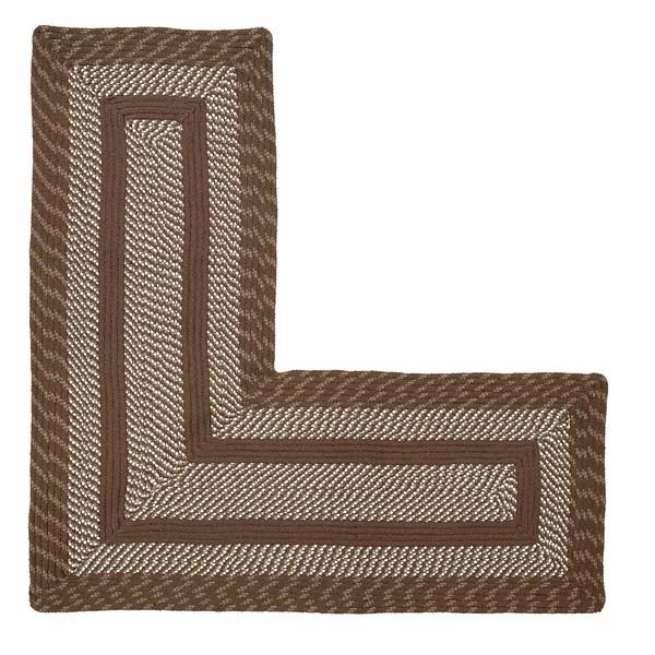 l shaped rug