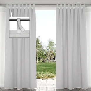 outdoor tab top curtains drapes you