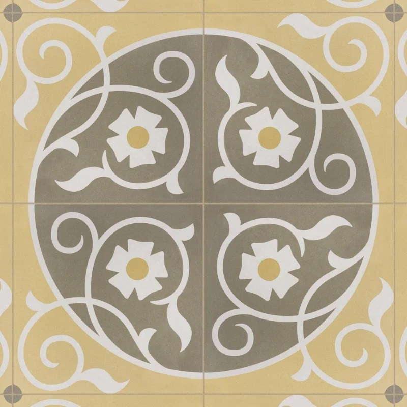 grotta 8 x 8 porcelain patterned wall floor tile
