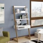 George Oliver Calvin Freestanding L Shapedladder Desk Reviews Wayfair