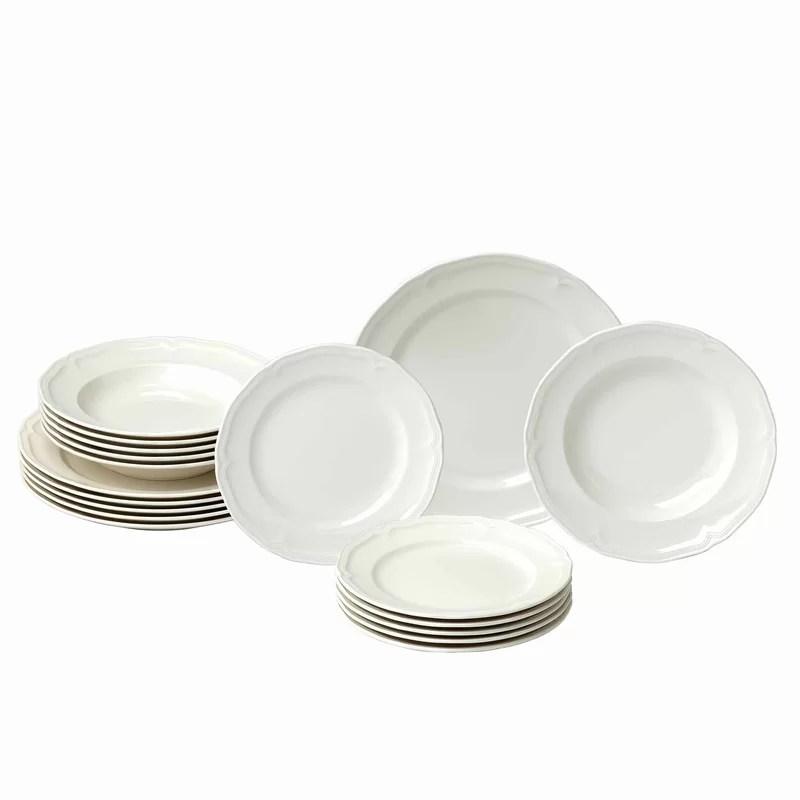 service de table 18 pieces service pour 6 manoir