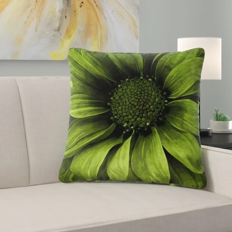 couch daisy square pillow cover insert
