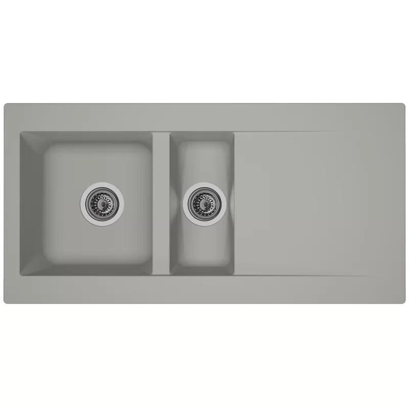 tenleybowl insert kitchen sink 1 5 bowl inset kitchen sink