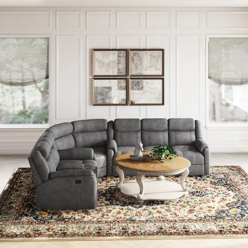 lynelle reversible reclining sectional