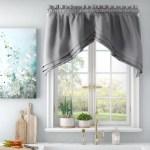August Grove Gladys Swag 57 Window Valance Reviews Wayfair