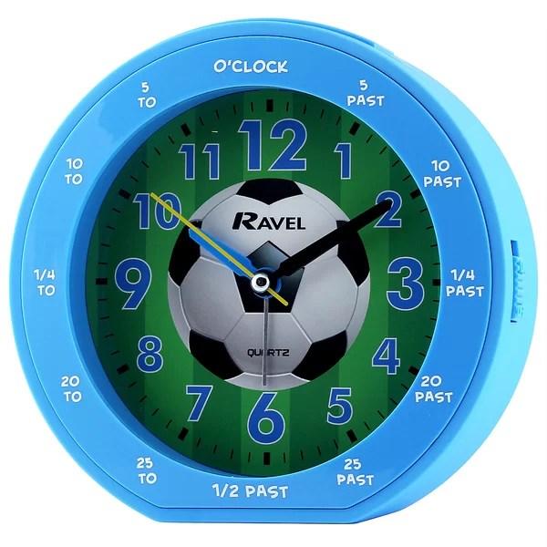 Ravel Football Childrens Alarm Clock