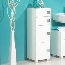 Best Freestanding Tall Bathroom Cabinets Uk Contemporary Home