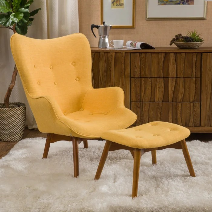 Modern Accent Chairs With Arms Under 100 Living Room Yellow