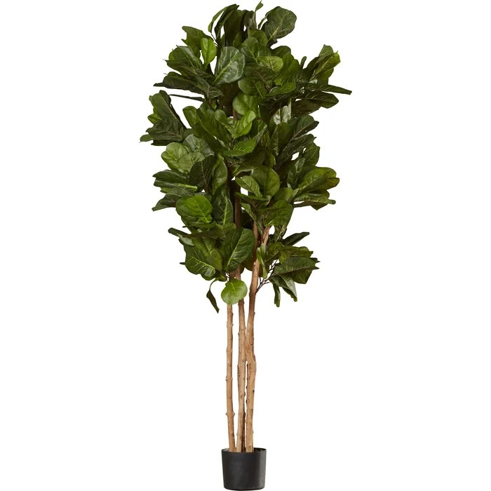 Faux Fiddle Leaf Fig Tree in Pot