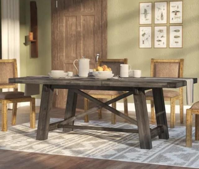 Laurel Foundry Modern Farmhouse Colborne Extendable Dining Table Reviews Wayfair