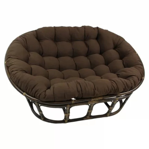 Double papasan chair from wayfair