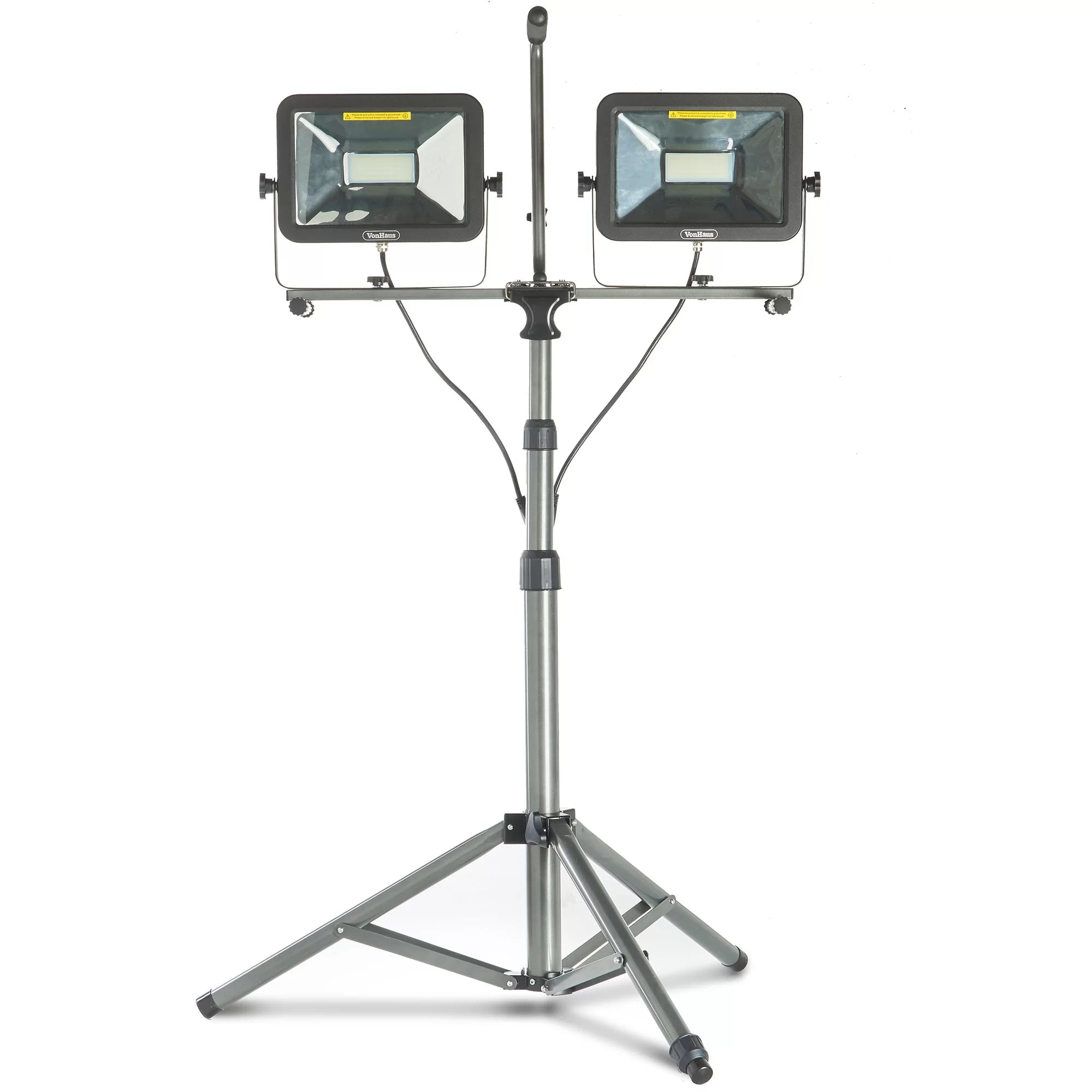 Vonhaus Dual Head 100w Led Work Flood Light