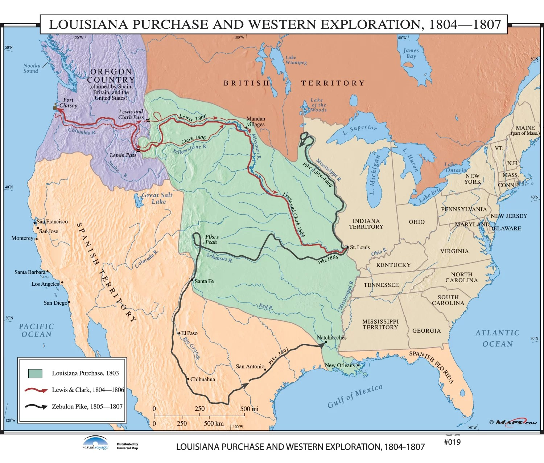 Universal Map U S History Wall Maps