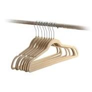 Wrinkle Free Flocked Velvet Non-Slip Hanger (Set of 30)