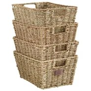 Seagrass Storage Basket (Set of 4)
