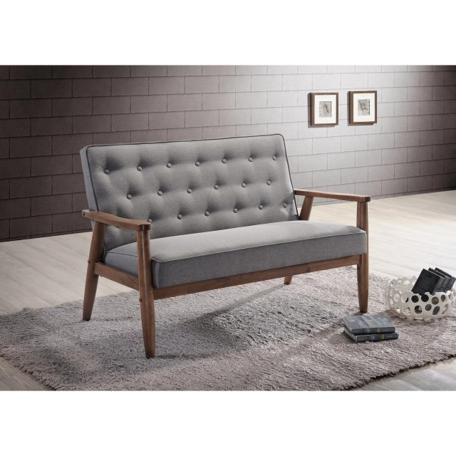 Baxton Studio Loveseat
