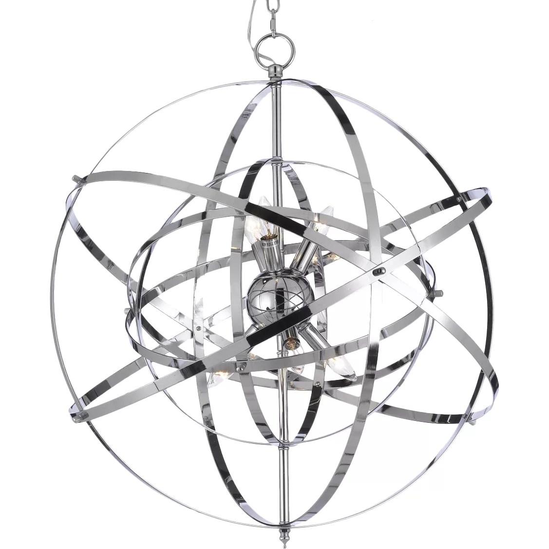 Harrison Lane 6 Light Sputnik Chandelier Amp Reviews