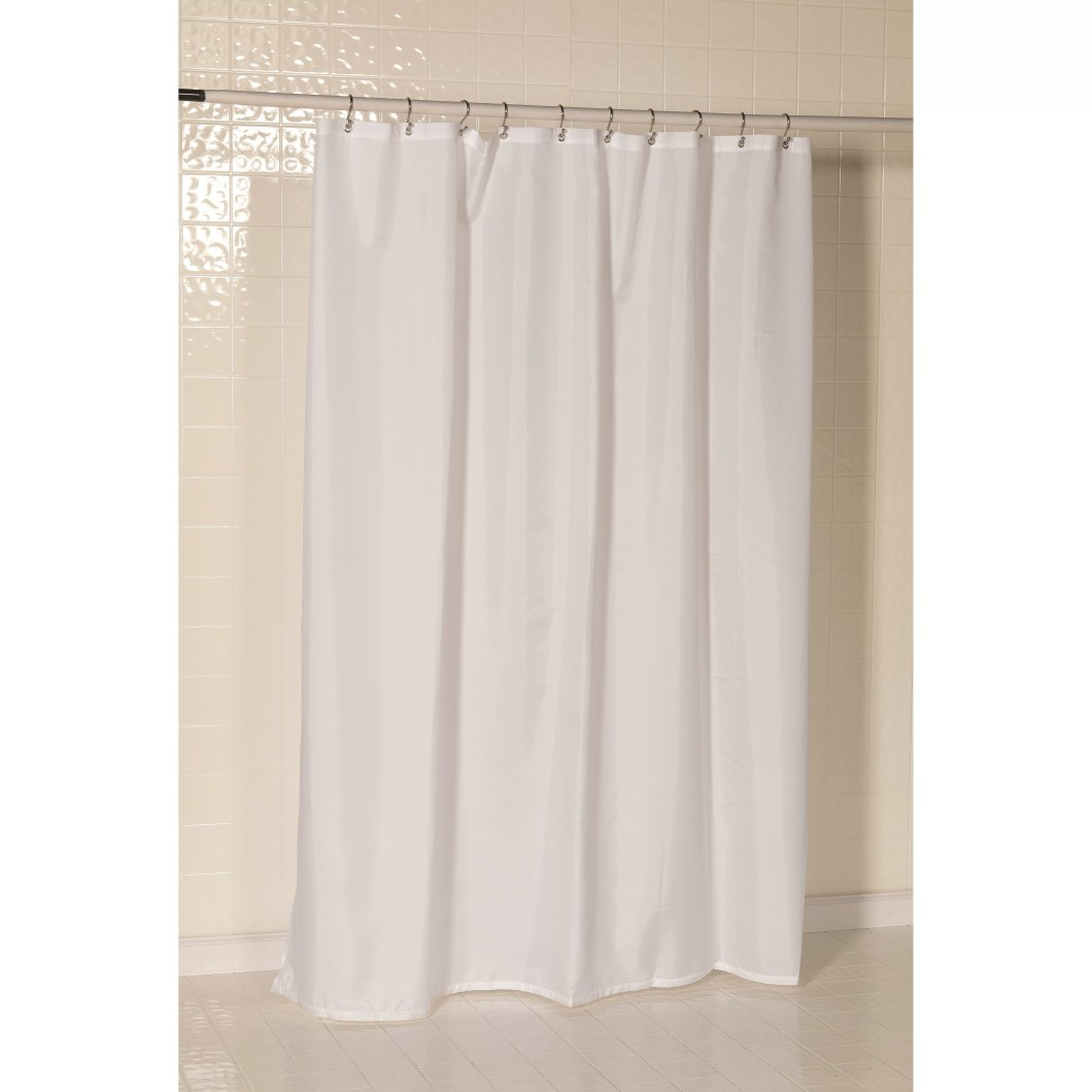 How To Remove Mildew From Polyester Shower Curtain Liner ...