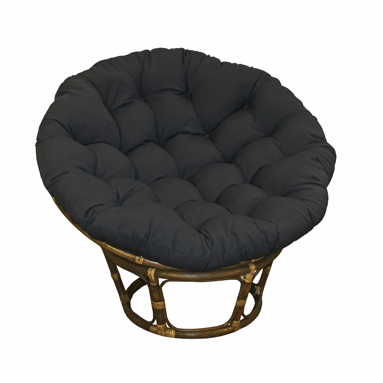 diy papasan chair cushion cover budget friendly kaylee