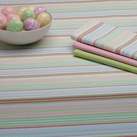 Easter Zig Zag Tablecloth