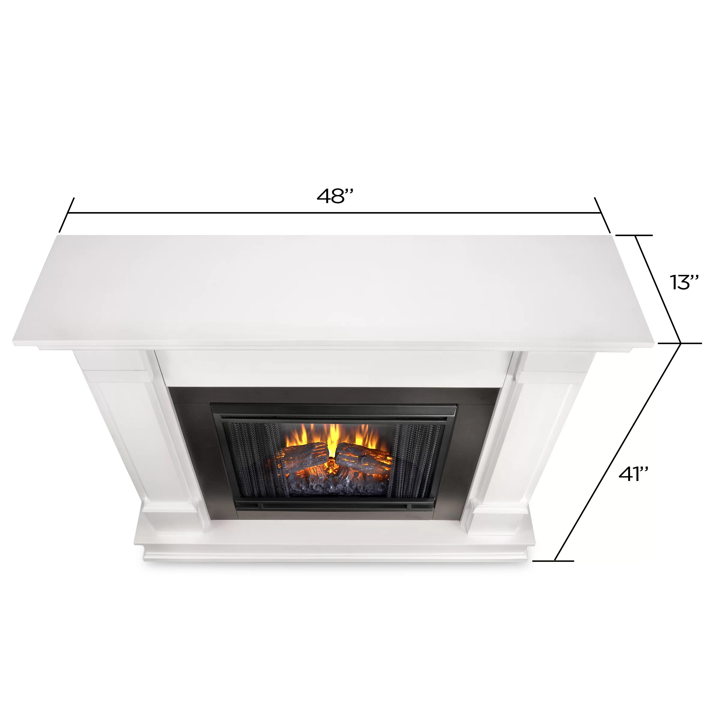 Real Flame Silverton Electric Fireplace Amp Reviews