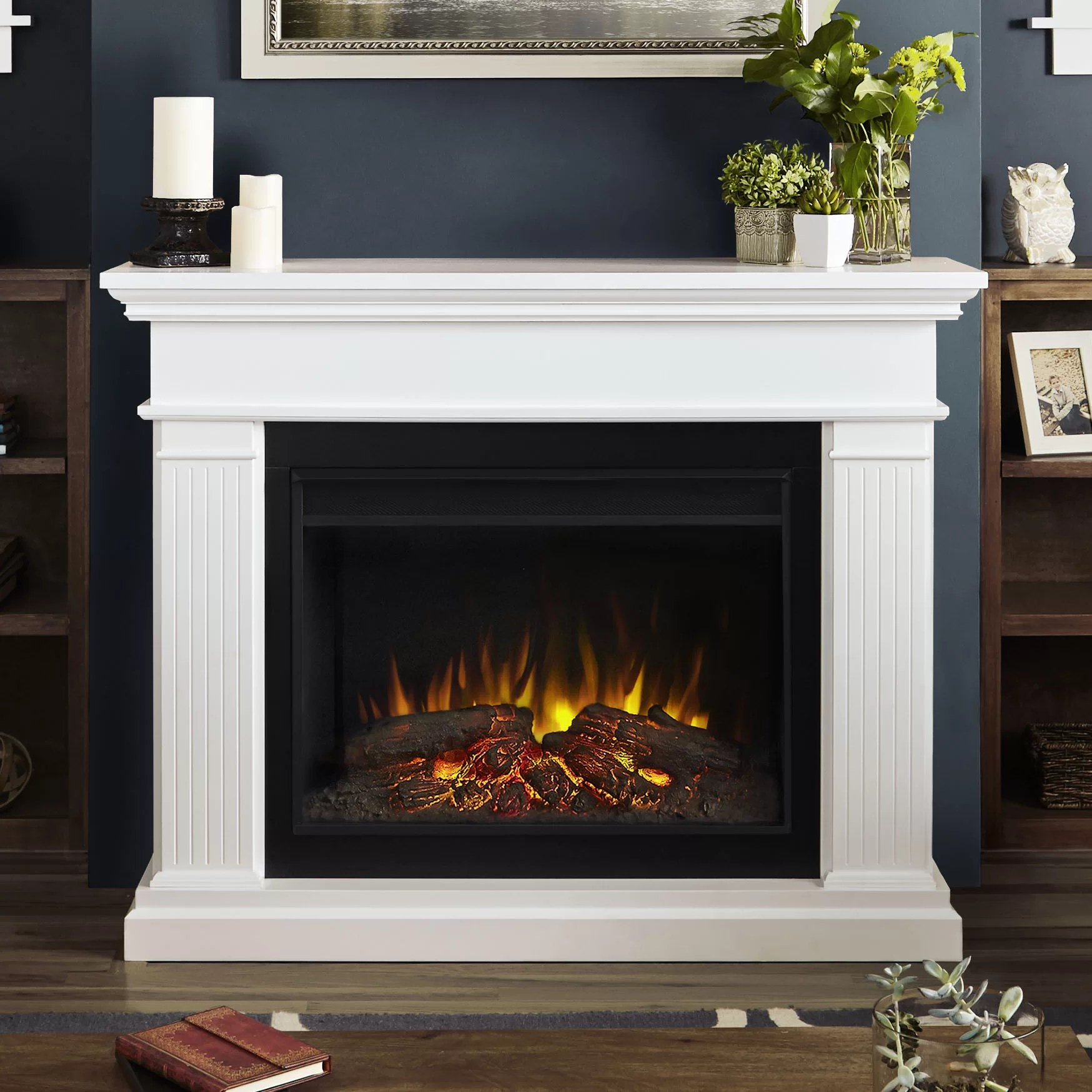 Real Flame Kennedy Grand Electric Fireplace Amp Reviews