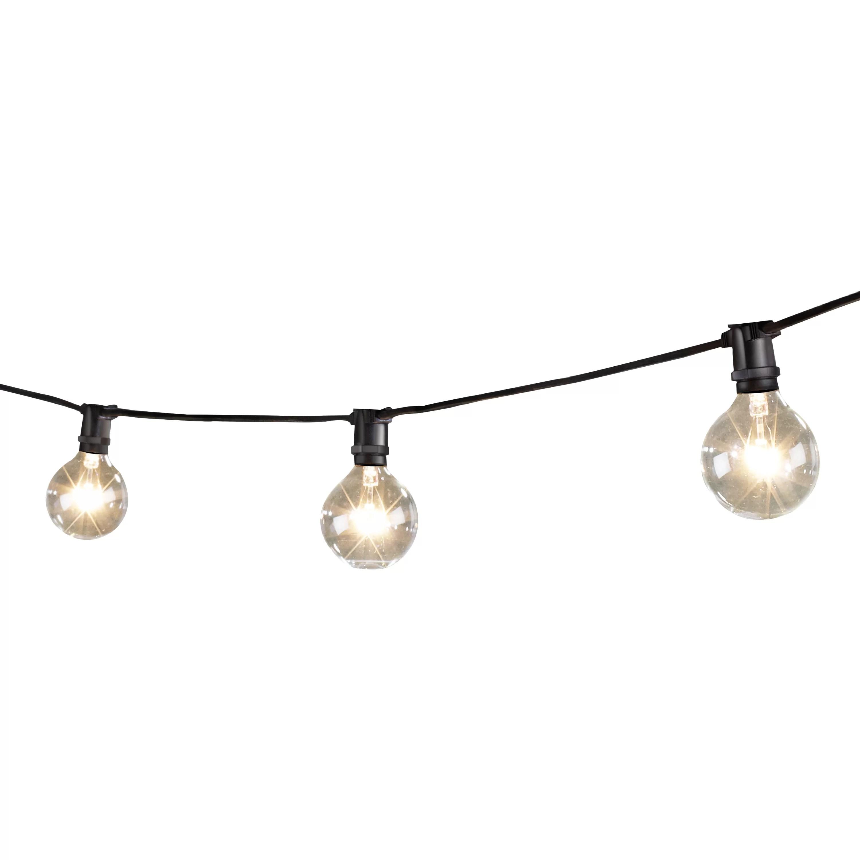 Wildon Home 15 Light 25 Ft Globe String Lights