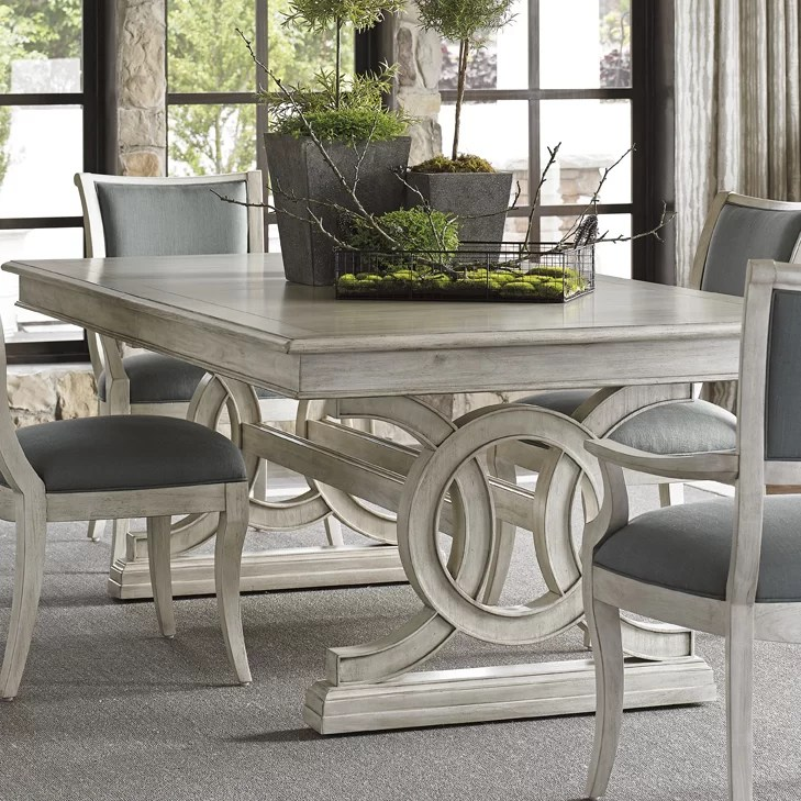 oyster bay dining table lexington black ice silverton