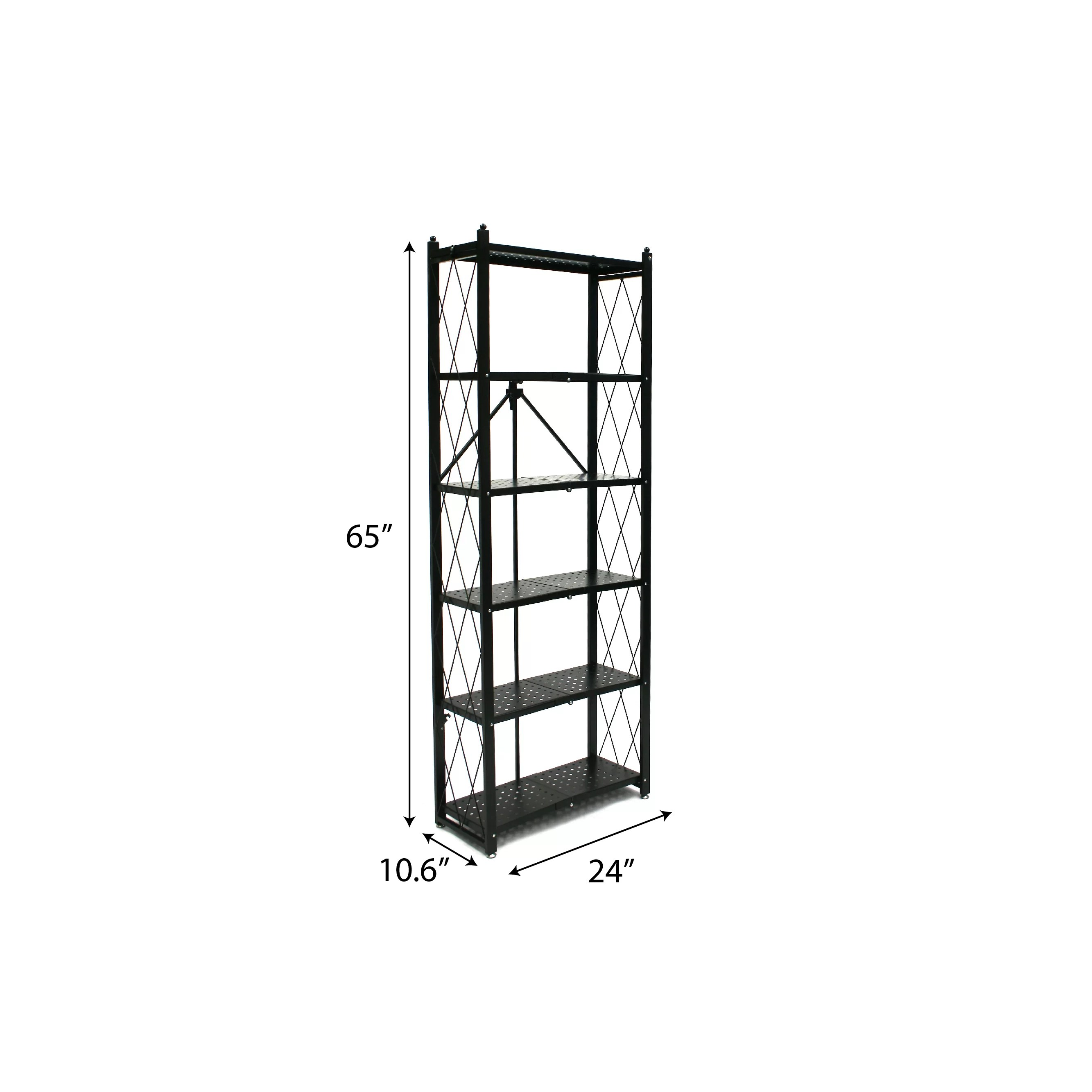 Origami 65 7 H 5 Shelf Shelving Unit Amp Reviews