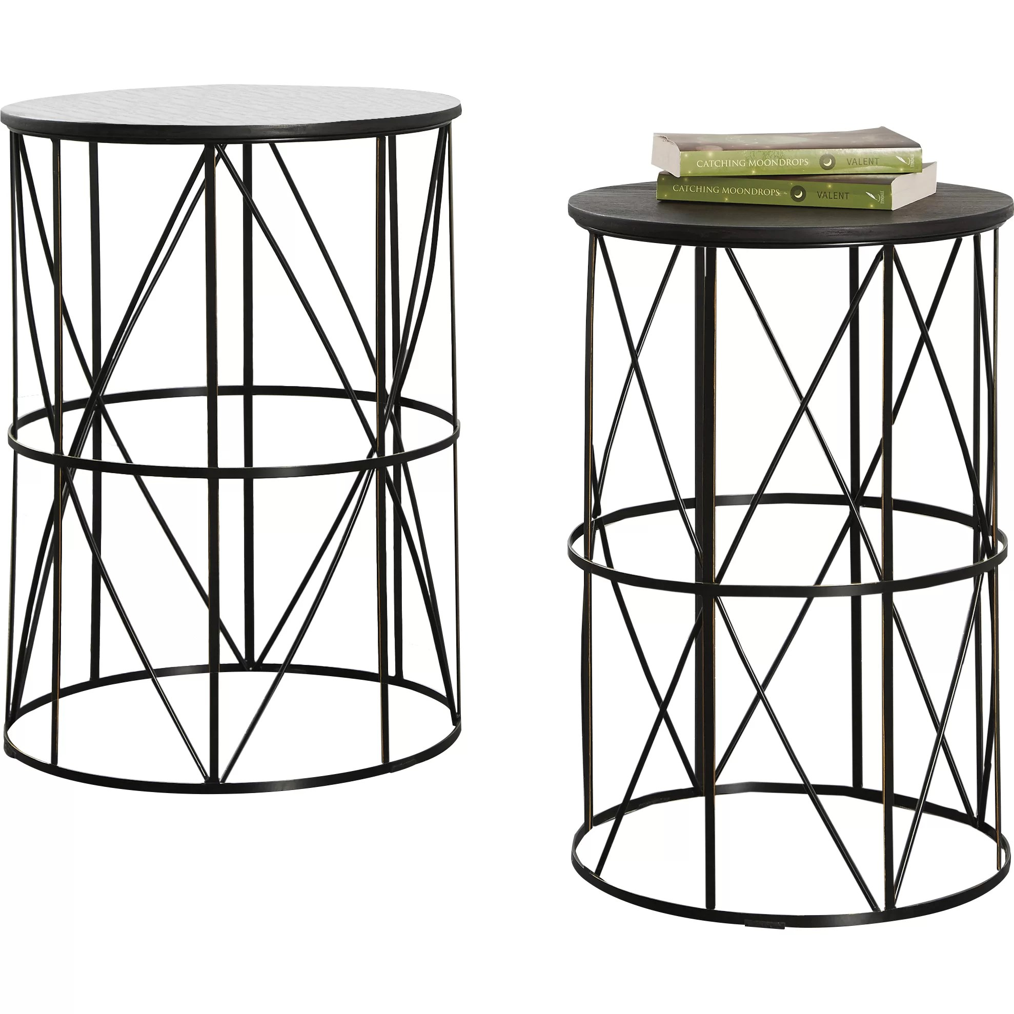 Signature Design By Ashley Marxim 2 Piece End Table Set