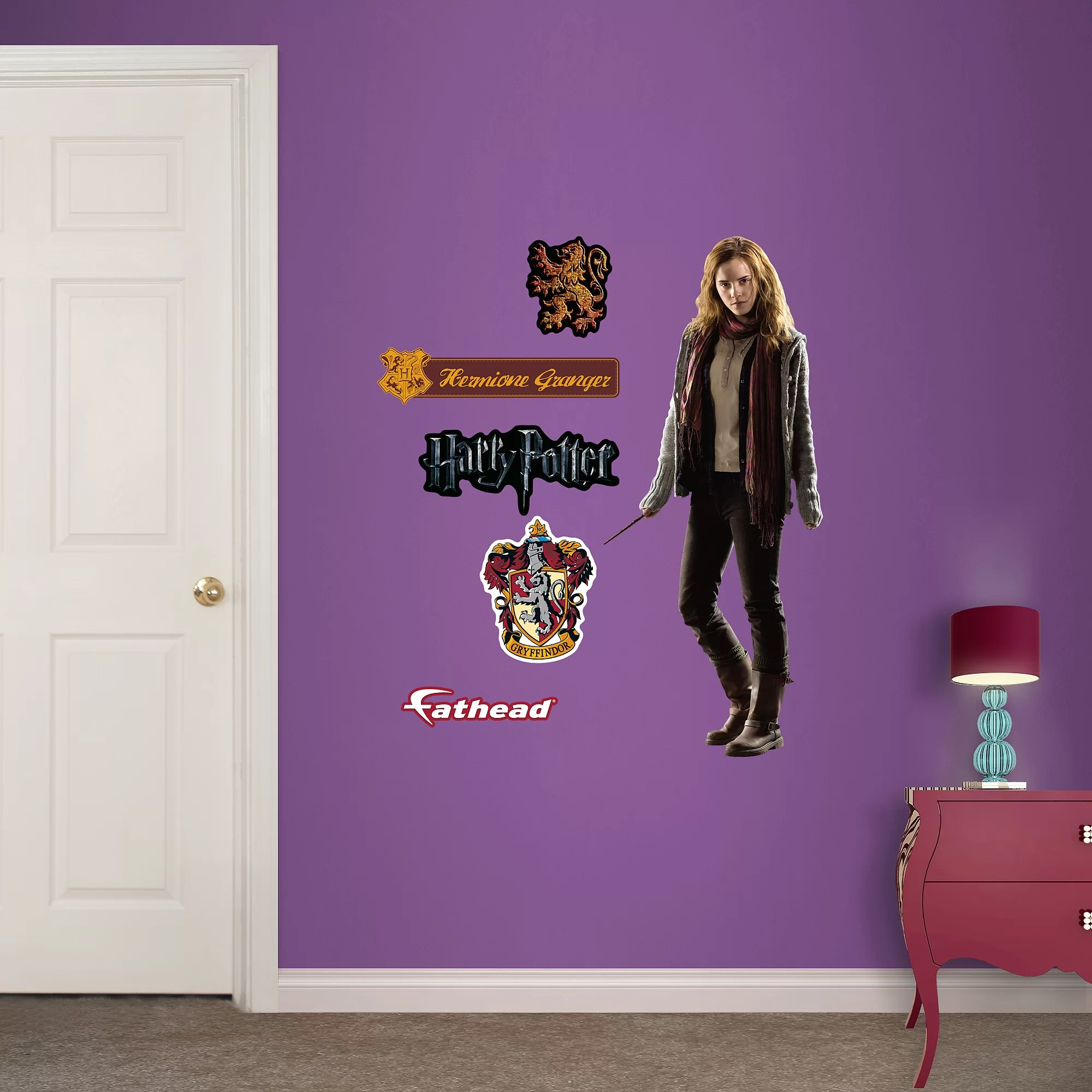 Fathead Harry Potter Hermione Granger Deathly Hallows