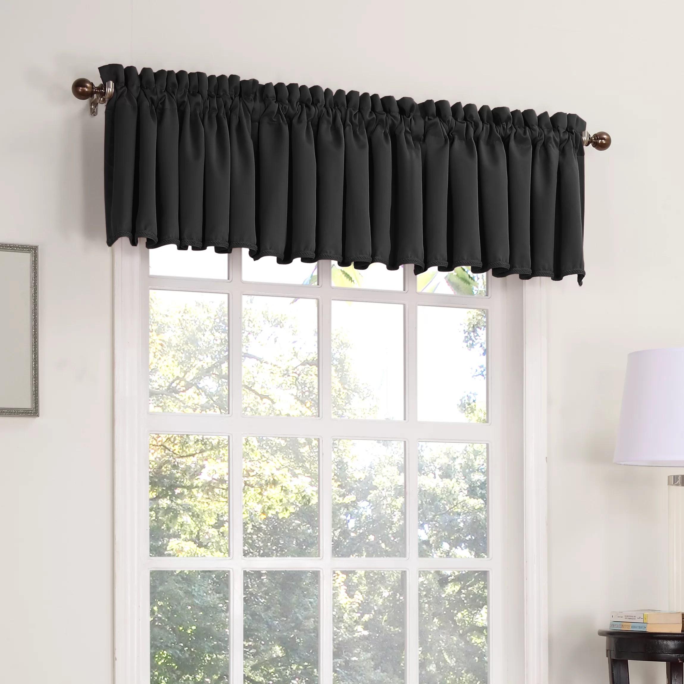 Sun Zero Groton Thermal Single 54 Curtain Valance