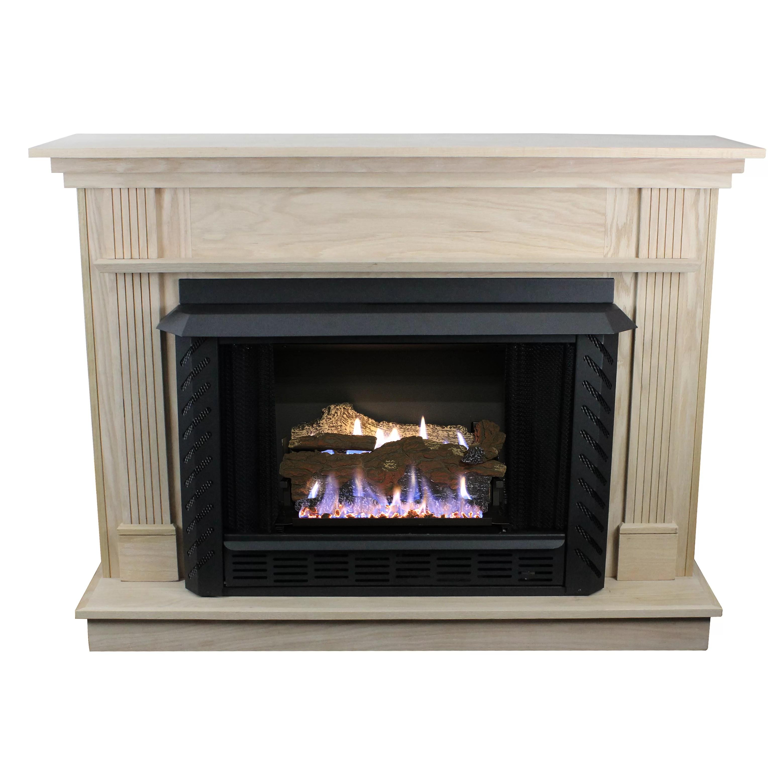 Ashley Hearth Vent Free Propane Fireplace