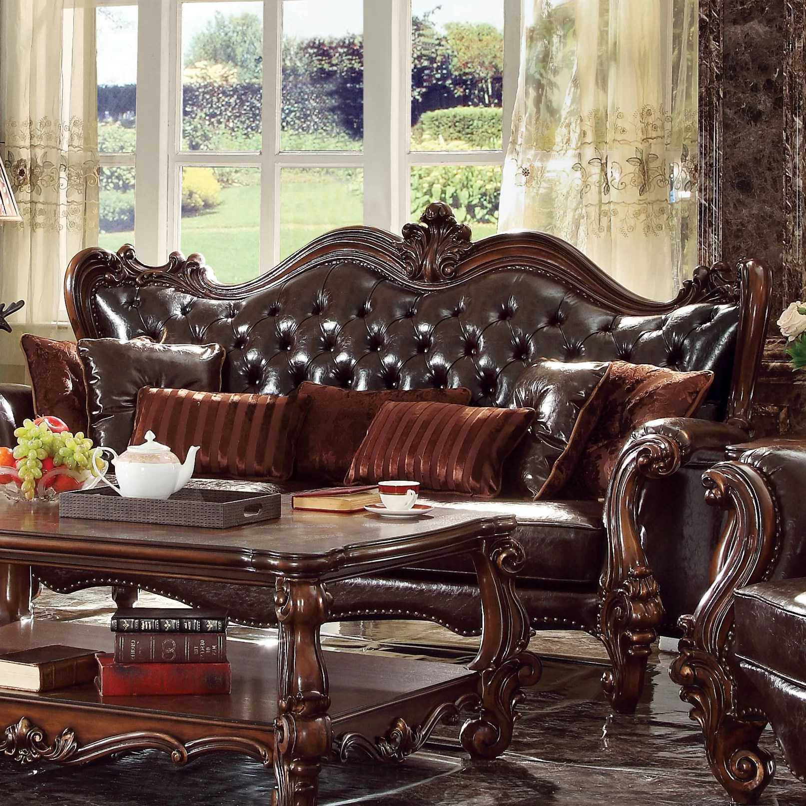 ACME Furniture Versailles Living Room Collection Wayfair