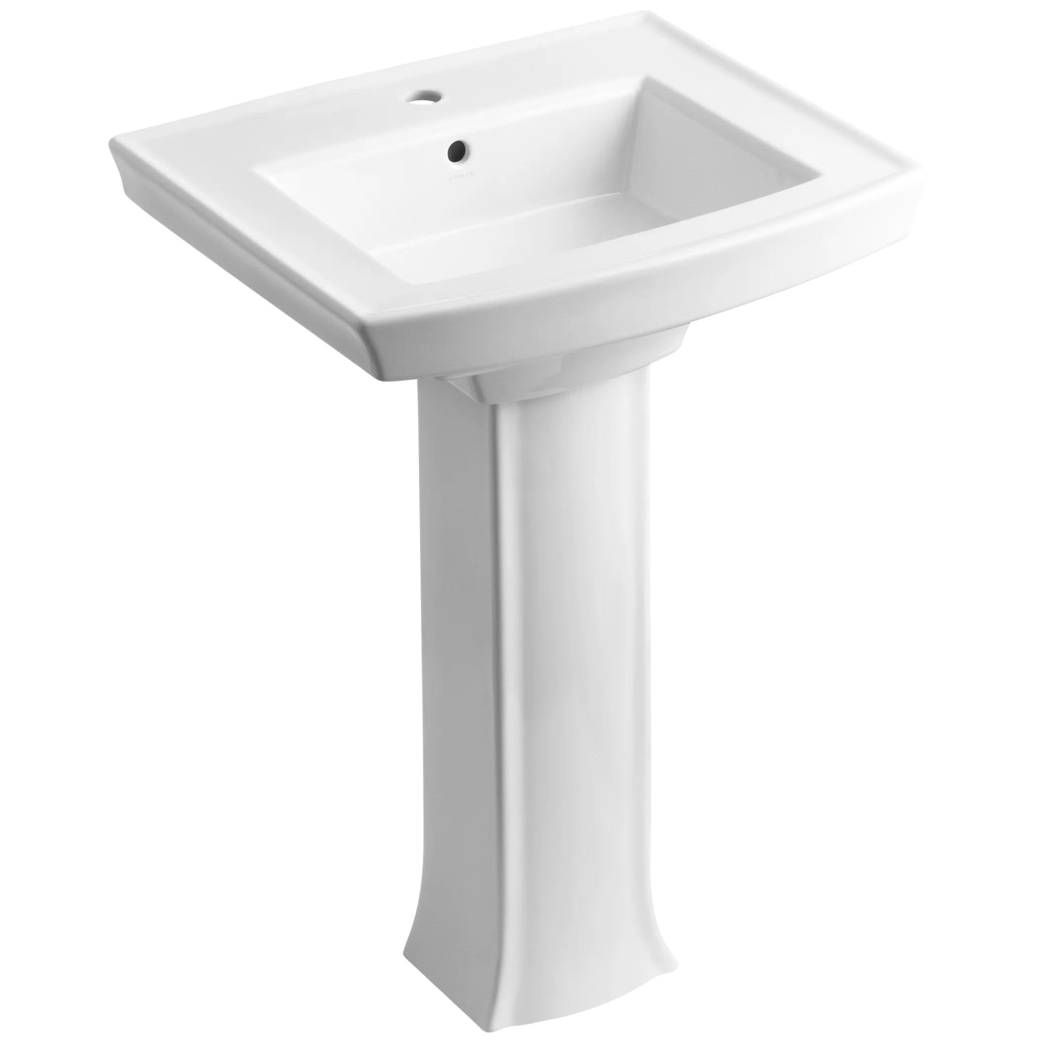 Kohler Kohler Archer Pedestal Sink Amp Reviews