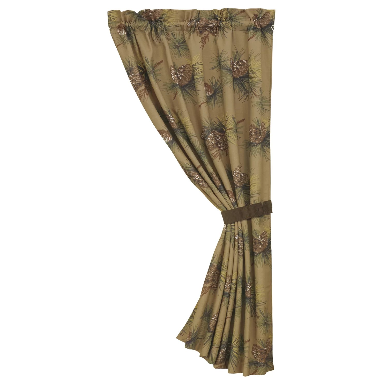 Crestwood Pinecone Curtain Panel
