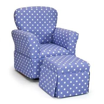 KidzWorld Kelso Maggie Kids Rocking Chair Amp Ottoman Set
