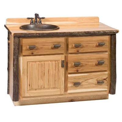 Hickory 48 Single Bathroom Vanity Set Wayfair